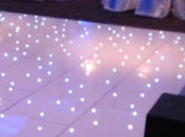 White LED Dance Floor 12ftx12ft FOR HIRE