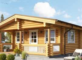 Living log home 2 bed