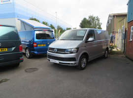 2018(18) VW T6 in SILVER- Highline, SWB.  6,100 miles.  Awaiting Conversion