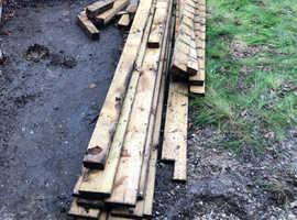 Wood for scrap