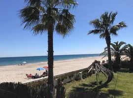3 Bedroom Front Line Beach Apartment With Stunning Sea Views, La Manga Strip,