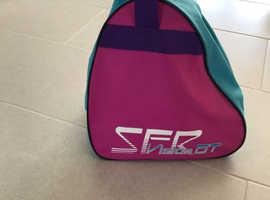 Roller skates & bag