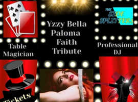 Paloma Faith Tribute Artist Yzzy Bella plus Full Support Acts