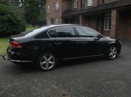 Volkswagen Passat, 2011 (11) Black Saloon Manual Diesel, 129,750 miles