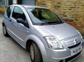 Citroen C2, 2008 (08) Silver Hatchback, Manual Petrol, 59,000 miles