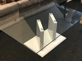 NEXT Glass coffee table.