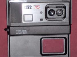 Boots 'TeleDisc 715' Disc Camera & Case (sold as seen)