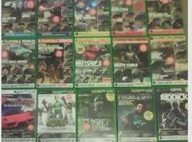 34 ORIGINAL XBOX DEMO DISCS