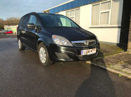 Vauxhall Zafira wheelchair accessible.14 reg.4 seats.1 owner.