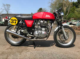2015 Royal Enfield Continental GT 535 (1950s racing style)