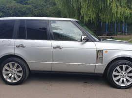 Land Rover RANGEROVER VOGUE, 2003 (03) Silver 4x4, Manual Diesel, 130,000 miles
