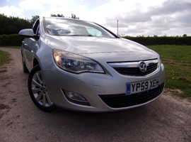 Vauxhall Astra, 2010 (59) Silver Hatchback, Manual Petrol, 138,340 miles