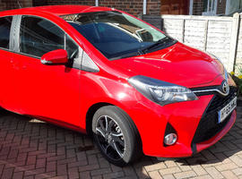 Toyota Yaris 1.3, 2015 (65) Red Hatchback, Manual Petrol, 19,154 miles