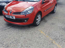 Renault Clio, 2006 (06) Red Hatchback, Manual Diesel, 101,863 miles