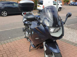 2009 BMW F 800 ST Mileage 18,214  Fully loaded and extras.  Carbon fibre rear huger. Very good condition.  BMW service history.