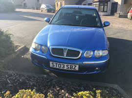 Rover 45, 2003 (03) Blue Hatchback, Manual Petrol, 96,000 miles