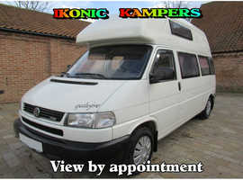 1998 Westfalia California Exclusive VWT4 2.5TDI LHD