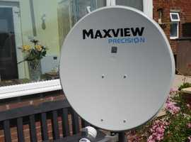 Maxview Precision Satellite dish & Freesat Box