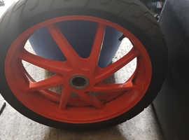 Vfr400 nc30 rear wheel