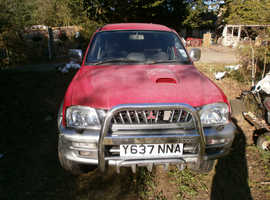 Mitsubishi L200, Animal ,  2001 Red 4x4 Diesel, 160,000 miles