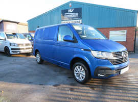 2021 (70) VW T6.1 in REVENNA BLUE DSG - Highline, SWB Campervan - Awaiting Conversion