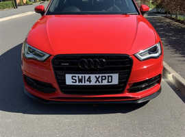 Audi A3, 2014 (14) Red Hatchback, Automatic Diesel, 47,678 miles