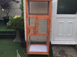 Indoor aviary for sale .