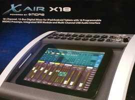 Behringer x18 mixer
