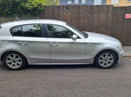 BMW 1 series, 2005 (55) Silver Hatchback, Manual Diesel, 174,572 miles