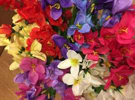 Delightful and colourful Silk Flowers