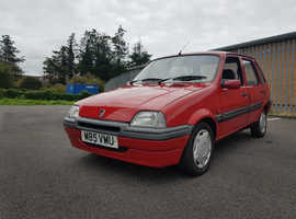 Rover METRO L AUTO, 1995 (M) Red Hatchback, Manual Petrol