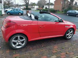 Vauxhall Tigra, 2007 (57) Red Convertible, Manual Petrol, 73,509 miles