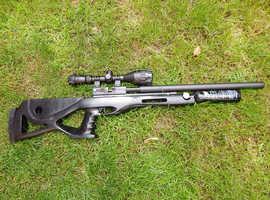 (REDUCED) Crosman custom RAT PCP 10shot side lever  22