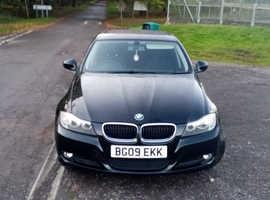 BMW 3 Series, 2009 (09) Black Saloon, Manual Petrol, 101,088 miles