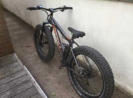 Fast custom made fat E-Bike ON ONE FATTY Rockshox X1 CYC X1 PRO Gen 1