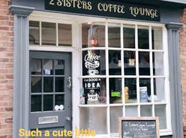 2Sisters Coffee Lounge is back open!