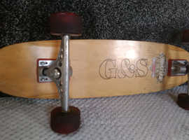 Classic g&s warptail skateboard for sale