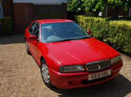 Rover 618i, 1998 (S) Red Saloon, Manual Petrol, 105,000 miles