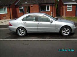 Mercedes C CLASS, 2003 (53) Silver Saloon, Automatic Petrol, 73,000miles