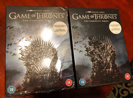 Game of Thrones box set 1-8 brand new and sealed.
