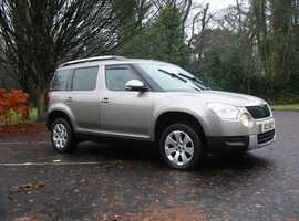 LEFT HAND DRIVE Skoda Yeti Automatic - 2 owners from new