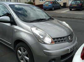 Nissan Note, 2008 (58) Silver MPV, Manual Petrol, 85,000 miles