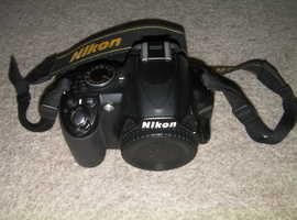 nikon D3100 18-55 VR KIT and 55-200,  tripod in case, nikon mcdc2,