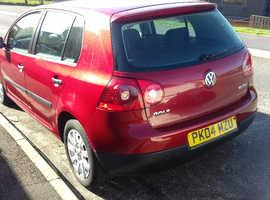 Volkswagen Golf, 2004 (04) red Hatchback, Manual Petrol, 93000 miles