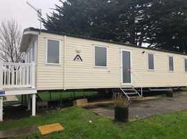 3 bedroom static caravan for sale including decking in Weymouth Dorset DG/CH