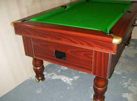 Free 6 x 3 Pool Table