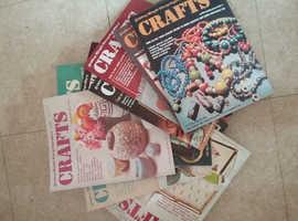 Set of Vintage Craft magazines