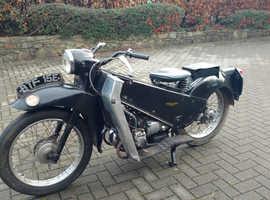 1967 velocette le 200