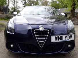 Alfa Romeo Giulietta, 2011 (11) Blue Hatchback, Manual Diesel, 104,000 miles