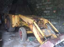 JCB 2d digger loader
